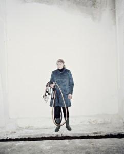 Elena, top milkmaid of the Slutsk region