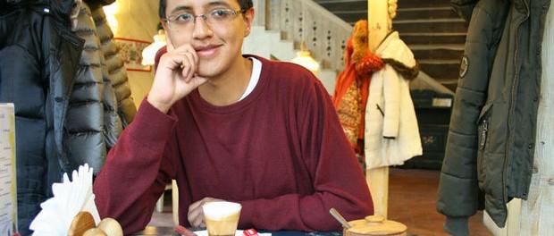 Andres Pancho, an Ecuadorian student in Minsk