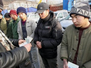 Migrant workers in Belarus