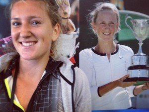 Victoria Azarenka, a former №1 in WTF tennis rating