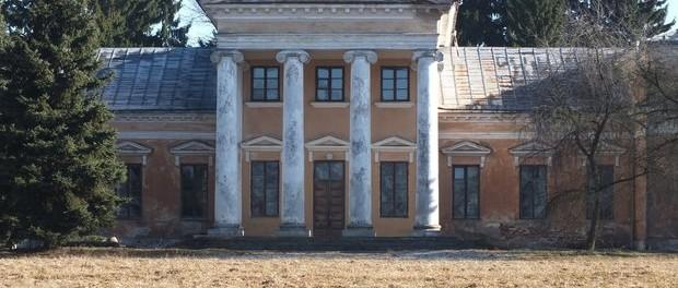 Old manor house in Snov, Belarus