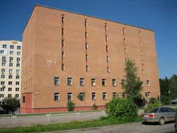 The National Historic Archives of Belarus in Minsk are located at Kropotkina St. 55, less than 200 meters north of Praspekt Masherava (Metro: Ploshcha Pieramohi, Trams 3, 4, 5, 10 to Teatralna stop, 9 minutes). Photo via National Historical Archives of Belarus