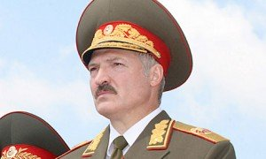 Belarusian President Alexander Lukashenko in the uniform of the Commander in Chief of the Belarusian Armed Forces. Photo via the Russian Presidential Press and Information Office (Wikimedia Commons)