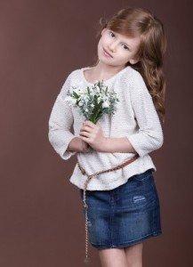 Anastasia Baginskaya, winner of the Children's Grand Prix in 2014. Photo via Slavianski Bazaar