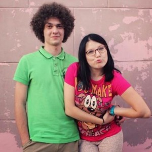 Founding members of Navi Band are Artem Lukyanenko and Xenia Zhuk. Photo via US Embassy in Minsk on Facebook