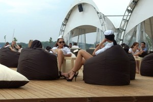 Dockside at the Bulbash Open proved a relaxing experience. Photo via ej.by