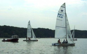 200 boats were purchased for the Belarusian Sailing Federation center on Minskoye More. Photo via ej.by