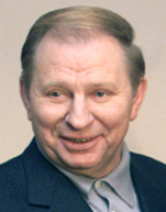 Former President Leonid Kuchma represented the Ukrainian side in today's talks in Minsk. Photo via the Russian Presidential Press and Information Office and Wikimedia Commons