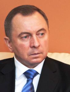 Uladzimir Makei, Foreign Minister of Belarus. Photo by Nina Zambrano Diaz via Wikimedia Commons