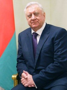 Prime Minister Mikhail Myasnikovich attended the Investment Forum in New York earlier this month. Photo via Premier.gov.ru through Wikimedia Commons