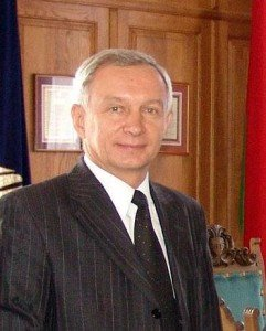 Present Rector of BSU, Sergey Ablameyko. Photo via BSU