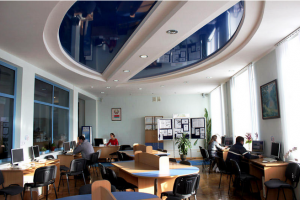 The electronic document room in the university library. Photo via BSATU website