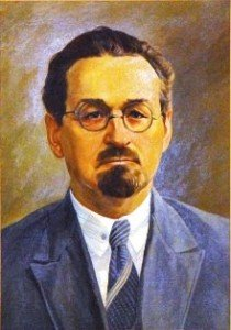Nikanor Yaroshevich, first rector of the Byelorussian Polytechnic Institute (1920-1922). Art via BNTU
