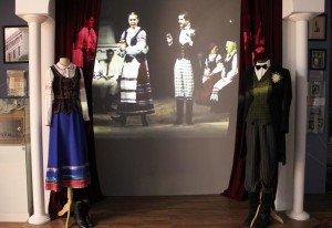 Costumes from Paulinka setting