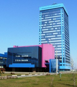 Administrative headquarters for AvtoVAZ in the central Russian city of Tolyatti. Photo by ShinePhanton via Wikimedia Commons