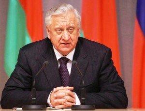 Mikhail Myasnikovich, Prime Minister of Belarus. Photo via Premier.gov.ru and Wikimedia Commons