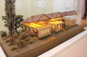 Model of Yanka Kupala's house