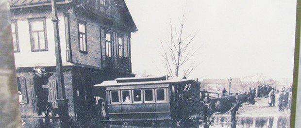 Horse-drawn tram