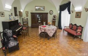 Interior of a citezen's apartment of 20th century