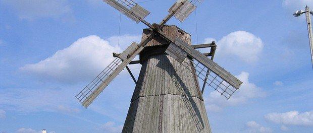 Mill at Museum complex Dudutki