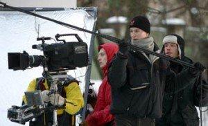 Belarusfilm shooting a film