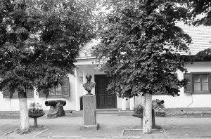 Suvorov's manor house. Photo, 1990