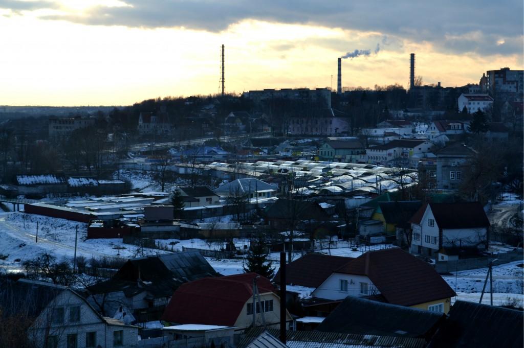 Industrial part of Mogilev