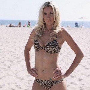 Olga Govortsova in swimsuit