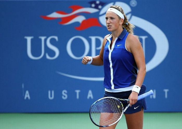 Victoria Azarenka at the 2014 US Open