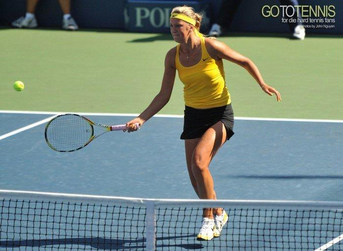 Victoria Azarenka at the 2009 US Open