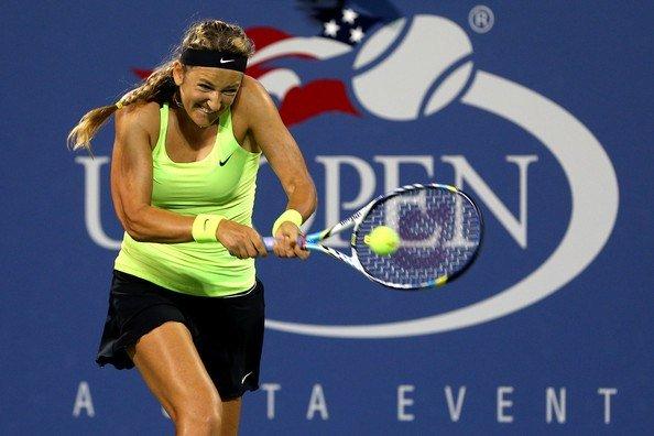 Victoria Azarenka at the 2012 US Open