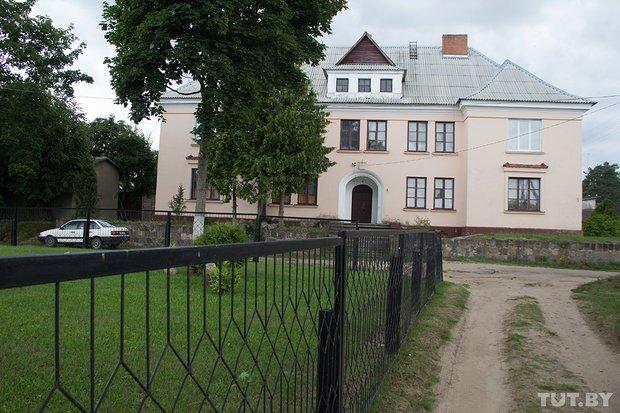 House of former local Polish governor in Braslav