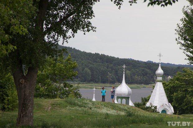 View from Castle Hill in Braslav