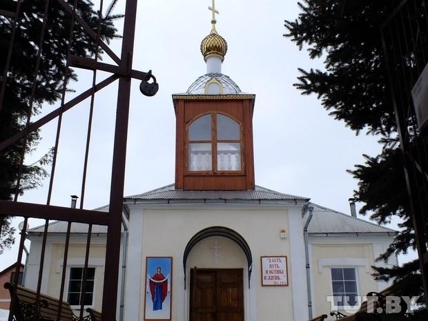 Orthodox church in Ivye