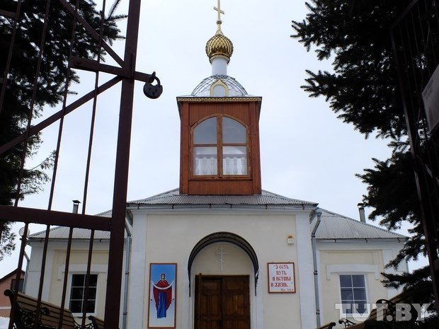 Orthodox church in Ivye