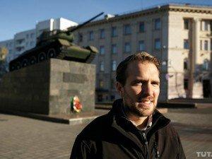 Ryan Barrett in Minsk