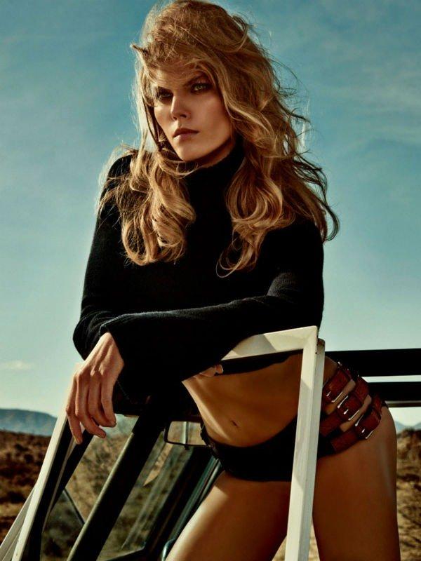 Belarus' model Maryna Lincuk