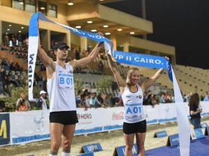 Kirill Kasyanik and Iryna Prasiantsova - 2017 UIPM World Cup