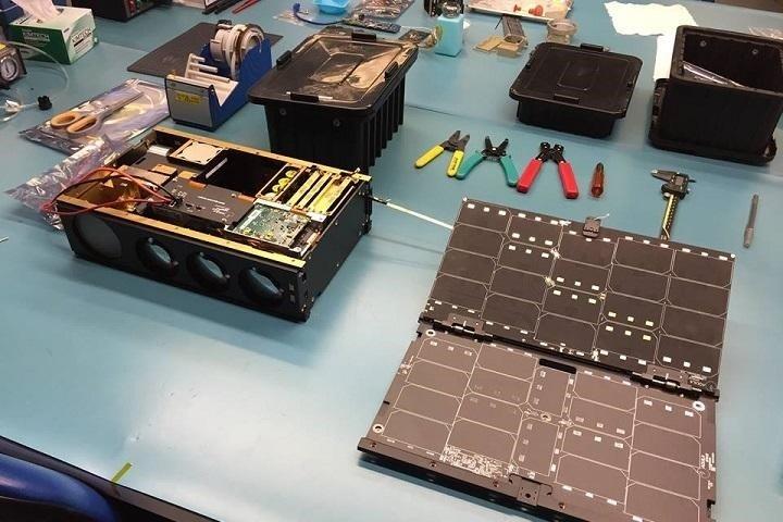Working on satellite's creation.
