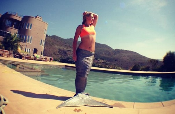 "Victoria Azarenka: ""Like a mermaid"""