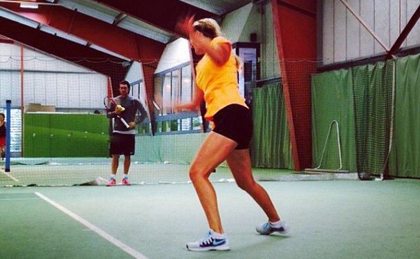 Victoria Azarenka on training