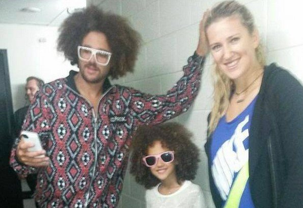Victoria Azarenka and Redfoo in Las Vegas