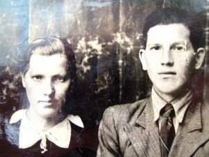 Yanina and Zenon Bernatowicz. Photo via Bernatowicz family of Trukhany, Ashmyany District
