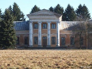 Old manor house in Snov, Belarus