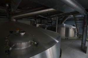 Modern brewery equipement