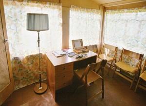 Vasil Bykov's studio