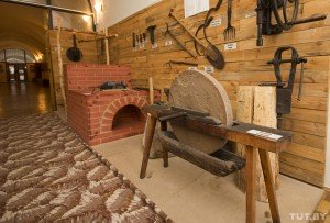 Blacksmith's workshop