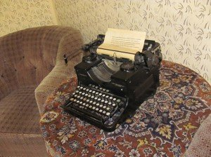 Trophy typewriter