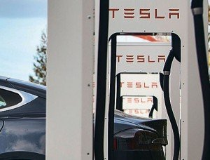 Tesla filling station