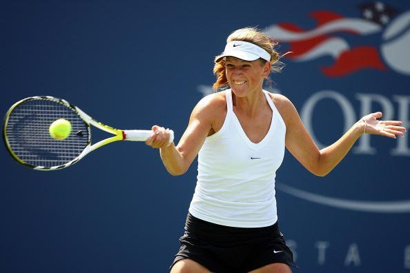 Victoria Azarenka at the 2007 US Open